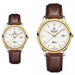 Zegarki dla pary Atlantic SEALINE 22341.43.21 i 62341.43.21