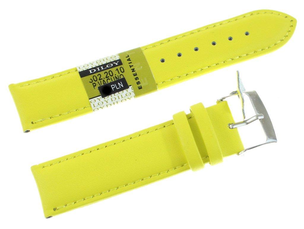 74eda4b73d3ff7 Skórzany pasek do zegarka 20 mm Diloy 302.20.10 Kliknij, aby powiększyć ...