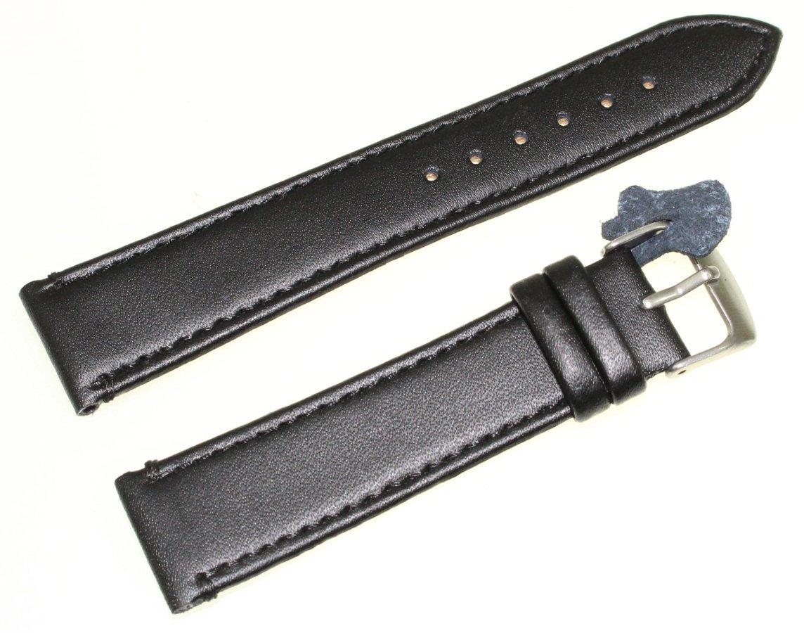 80e7ce452af4b1 Skórzany pasek do zegarka 20 mm Diloy 304.20.1 Kliknij, aby powiększyć ...