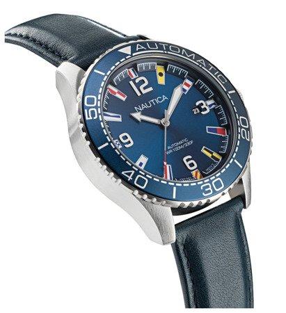Automatyczny zegarek Nautica Jones Beach NAPJBF912 Flags Data
