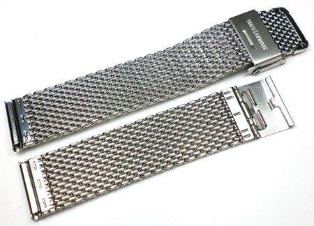 Bransoleta do zegarka 20 mm Tekla TB20.001.08 Stal