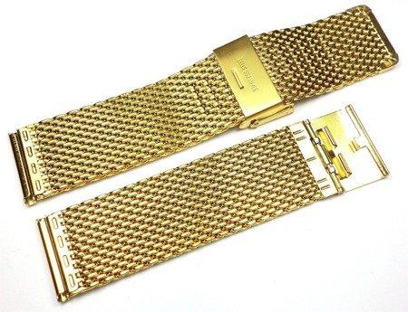 Bransoleta do zegarka 22 mm Tekla TB22.002.09 Stal