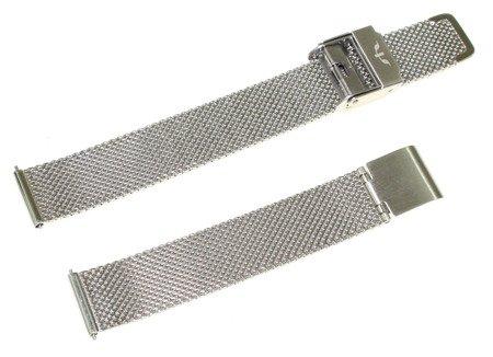 Bransoleta stalowa do zegarka 14 mm Bisset BM-101/14 Silver