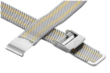 Bransoleta stalowa do zegarka 14 mm Bisset BM-101/14 TT Gold