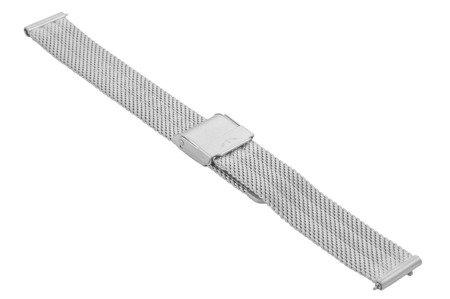 Bransoleta stalowa do zegarka 14 mm Bisset BM-103/14 Silver Mat