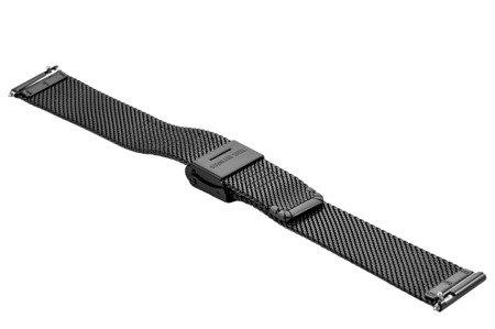 Bransoleta stalowa do zegarka 16 mm Bisset BM-104/16 Black