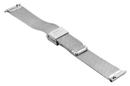 Bransoleta stalowa do zegarka 16 mm Bisset BM-104/16 Silver