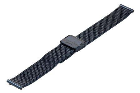 Bransoleta stalowa do zegarka 16 mm Bisset BM-105/16 Blue