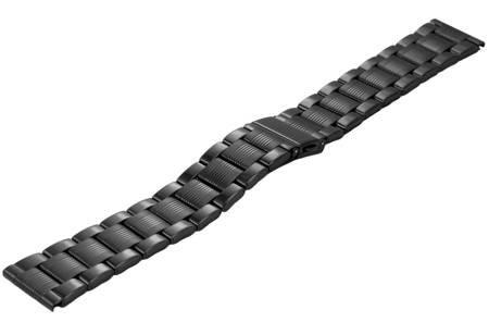 Bransoleta stalowa do zegarka 20 mm BR-109.20 Black