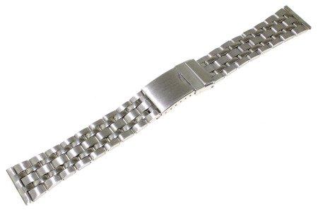 Bransoleta stalowa do zegarka 20 mm JVD KT 126-20