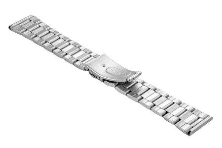 Bransoleta stalowa do zegarka 22 mm BR-120/22 Silver