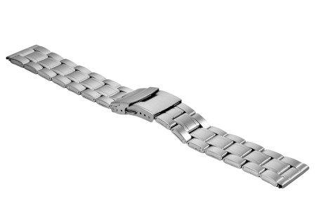Bransoleta stalowa do zegarka 22 mm BR-121/22 Silver