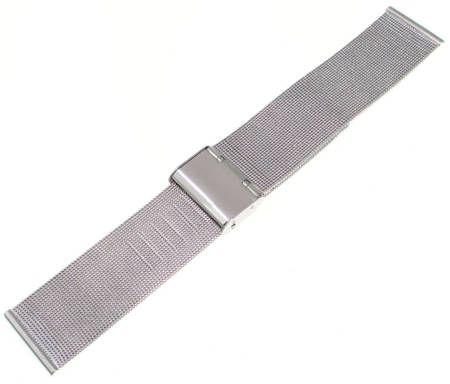 Bransoleta stalowa do zegarka 22 mm Tekla BC1.22 Silver