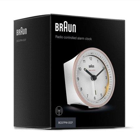 Budzik Braun BC07PW-RC