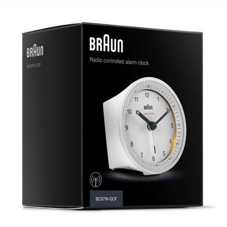 Budzik Braun BC07WH-RC