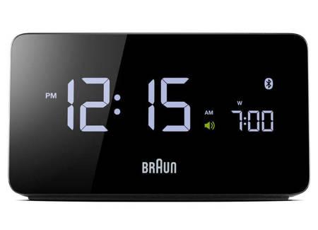 Budzik Braun BNC020B BT 4.0 ładowarka 2 x USB