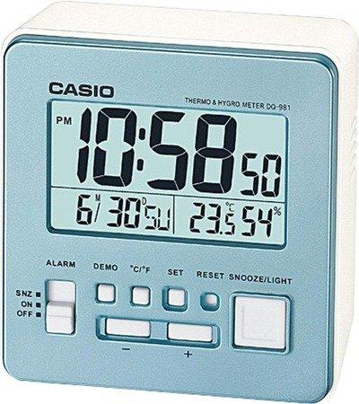 Budzik Casio DQ-981-2ER Termometr Higrometr