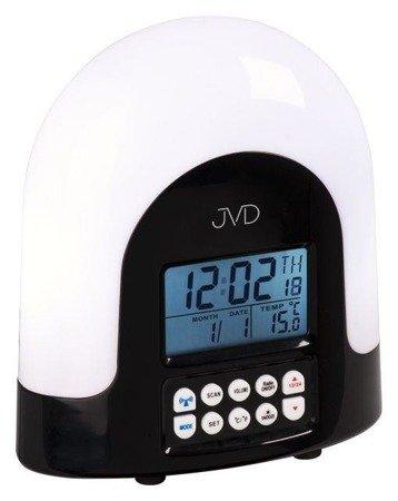 Budzik JVD RB298.1 Radio Lampka Termometr