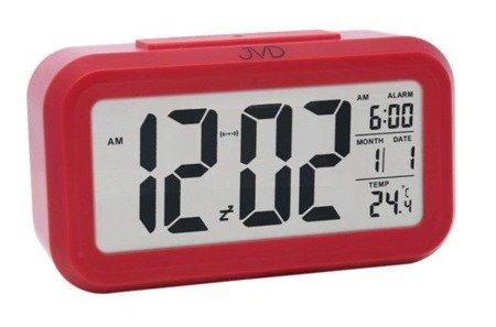 Budzik JVD SB18.2 z termometrem, Sensor Light