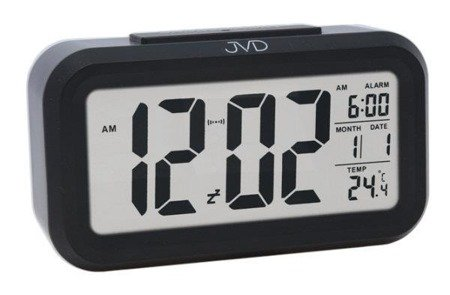 Budzik JVD SB18.3 z termometrem, Sensor Light