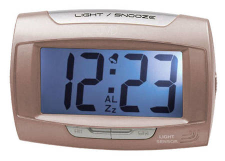 Budzik JVD SB91.12 czujnik oświetlenia