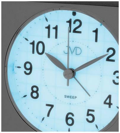Budzik JVD SRP707.3 z płynącym sekundnikiem