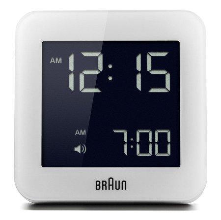 Budzik elektroniczny Braun BNC009WH