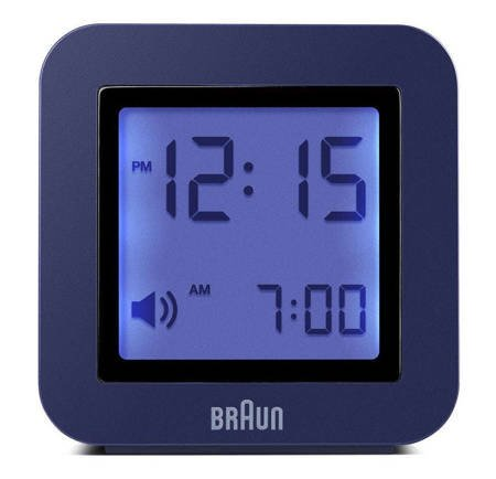Budzik elektroniczny Braun BNC018BL
