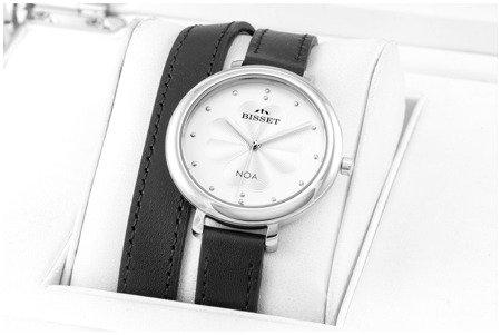 Damski klasyczny zegarek BISSET BSAE82 SISX 03BX