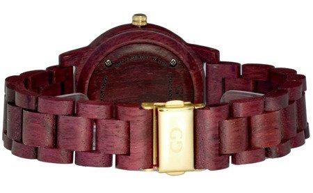 Drewniany zegarek damski Giacomo Design GD08202