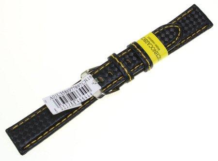 Karbonowy wodoodporny pasek do zegarka 18 mm Morellato A01U3586977897CR18