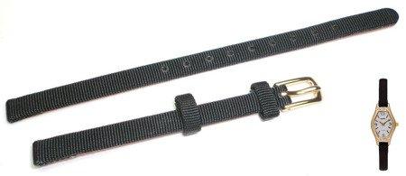 Pasek do zegarka Timex T2M191 P2M191 6 mm Skórzano-materiałowy