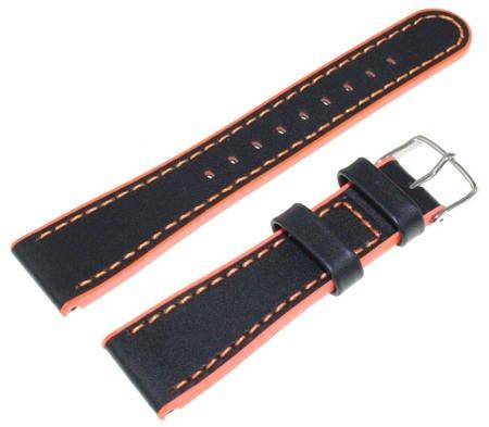 Pasek do zegarka Timex T2M428 P2M428 22 mm Skóra-silikon