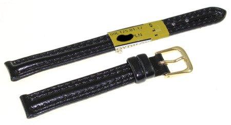 Skórzany pasek do zegarka 12 mm Diloy 125.12.1