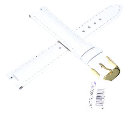 Skórzany pasek do zegarka 7 / 16 mm JVDRJ4064-G