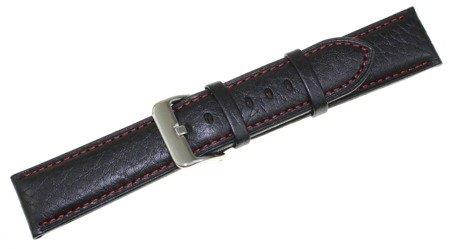 Skórzany pasek do zegarka Bisset 22 mm BS-157.22.20.01