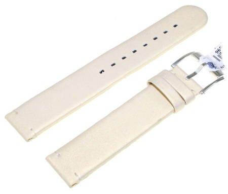 Skórzany wodoodporny pasek do zegarka 18 mm HIRSCH Softcalf 02890090-2-18