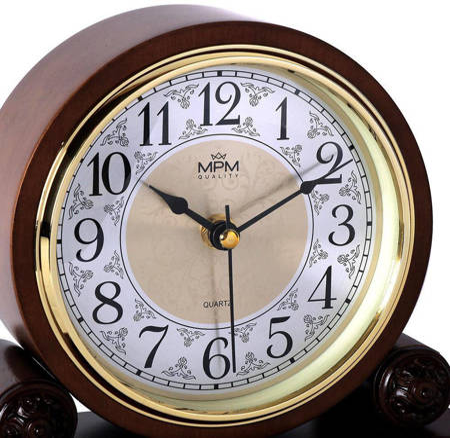 Zegar kominkowy MPM E03.3891.50.A 22 x 19,5 cm