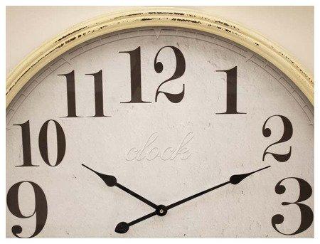 Zegar ścienny Art-Pol 106496 Duży Drewniany Retro 78 cm