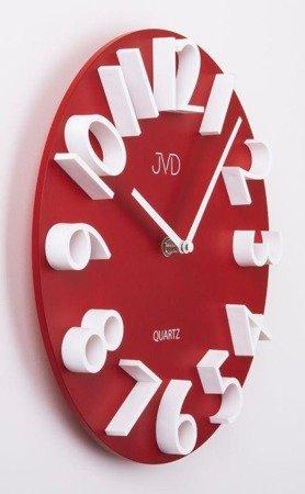 Zegar ścienny JVD HB22.3 29 cm Drewniany, wypukły