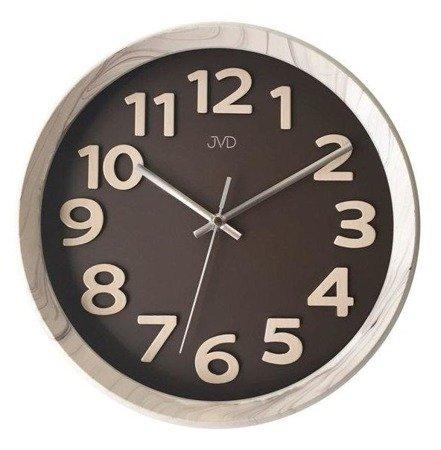 Zegar ścienny JVD HT073.4 31 cm Wypukłe cyfry