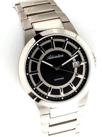 Zegarek Adriatica A1175.4114Q Tytanowy Szafirowe szkło