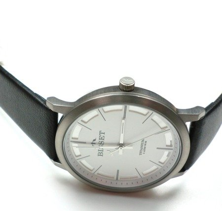 Zegarek Bisset BSCE43 DISX 05BX Tytanowy