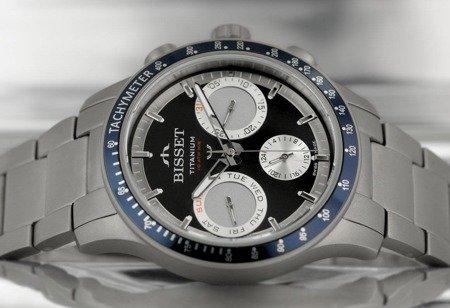 Zegarek Bisset BSDE37 DIBS 10BX Tytanowy