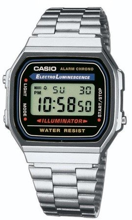 Zegarek Casio A168WA-1YES Retro