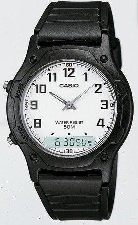 Zegarek Casio AW-49H-7BV Analogowo-cyfrowy