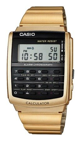 Zegarek Casio CA-506G-9AEF Kalkulator Retro Vintage
