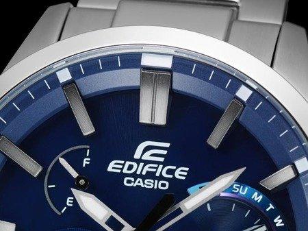 Zegarek Casio EQB-700D-2AER Edifice BT 4.0 Solar Dual Time