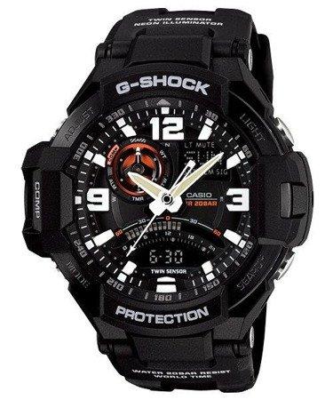 Zegarek Casio GA-1000-1AER G-Shock Kompas Termometr
