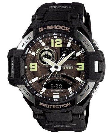 Zegarek Casio GA-1000-1BER G-Shock Kompas Termometr